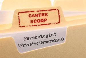 Career Scoop: Psychologist (Generalist, Private Practice)