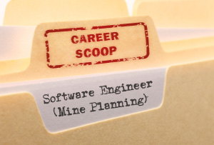 Career Scoop file, on what it's like to work as a Software Engineer (Mine Planning)