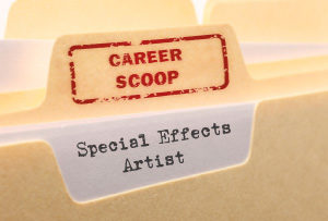 Career Scoop File, on what it's like to work as a Special Effects Artist