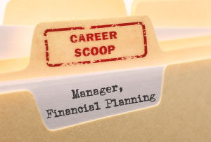 Career scoop File, on what its like to work as a Financial Planning Manager