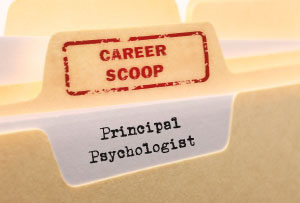 Career Scoop File, on what its like to work as a Principal Psychologist
