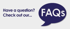 Have a question? Check out our... FAQs