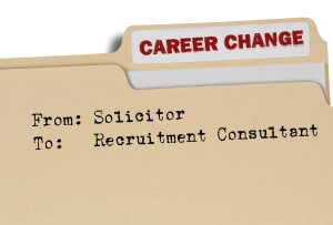 Career Change Folder - Changing career from Solicitor to Recruitment Consultant