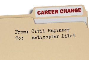 Career Change Folder - Changing career from Civil Engineer to Helicopter Pilot
