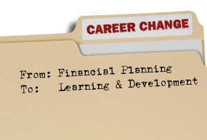 Career Change Folder - Changing career from Financial Planning to Learning and Development